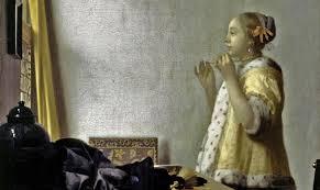 vermeer pearl necklace dress in the age of vermeer with marieke de winkel