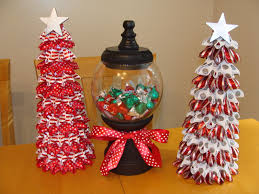 ribbon christmas tree u0026 gumball candy dish things ive done