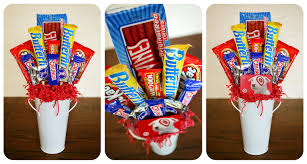 How To Make A Candy Bouquet Birthday Week Candy Bouquets Eighteen25