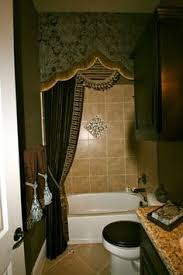 bathroom drapery ideas high hung regular curtains around the tub home inspirations