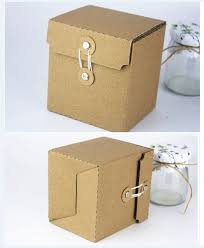 where can i buy a gift box 9x8x10cm small kraft paper vintage boutique custom corrugated