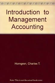 buy introduction to management accounting book online at low
