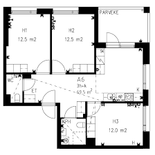 Types Of Apartment Layouts Homes For Students Brysselinkatu 3