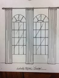 Arched Window Treatments Window Treatments For Curved And Arched Windows Design Drapes