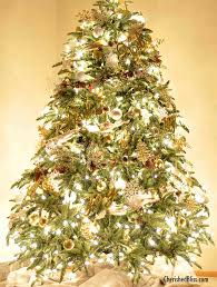 rustic silver and gold tree tree decorating ideas