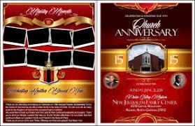 church programs templates church anniversary church anniversary programs banners