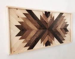 Reclaimed Barn Wood Art Reclaimed Wood Wall Art Etsy
