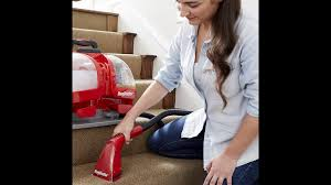 rug doctor portable spot cleaner machine red corded and rug