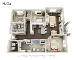 Floor Plan Of An Apartment Yards At Noda