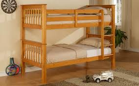 Hardwood Bunk Bed Wooden Bunk Bed With Mattresses Only 349 Call A Mattress