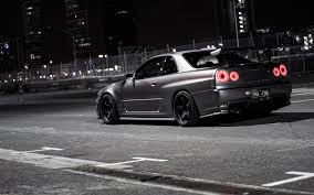 The R34 Nissan Skyline Modified Rear Honours Research