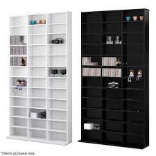 media console with glass doors bookcase dvd shelves media storage shelf unit rack racks cabinet