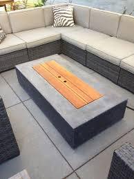 Bbq Side Table Plans Fire Pit Design Ideas - best 25 fire pit coffee table ideas on pinterest fire pit patio
