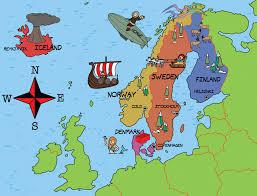 map northern europe scandinavia knowledge