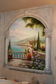 best 20 bathroom mural ideas on pinterest murals wall murals bathroom mural over corner jetted tub www ramonabalaz com