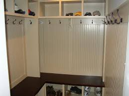 bloombety mudroom cabinets with hangers well designed of the