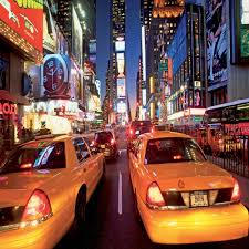 1 wall giant wallpaper mural new york taxi times square 3 15m x 2 32m 1 wall new york taxi giant wallpaper mural