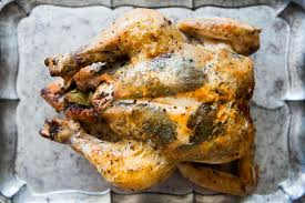 Roast Whole Chicken Herb Stuffed Roast Chicken Recipe Simplyrecipes Com