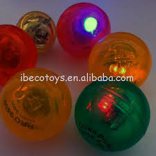 ball with light inside custom design 49mm rubber bouncing balls with led light view rubber
