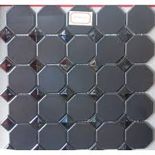 octagon ceramic floor mosaic