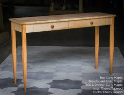shaker sofa table 52 x 15 shaker inspired hardwood console table w