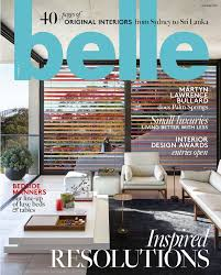 Home Design Magazines In Sri Lanka Our Houseboat Project Featured In Belle Magazine Smart Spaces