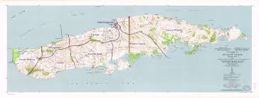 Puerto Rico Road Map by