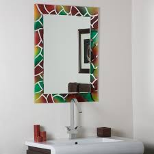 furniture the beauty of decorative mirrors for bathroom