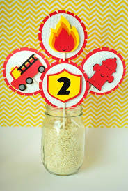 firefighter cupcake toppers the 25 best truck cupcakes ideas on truck
