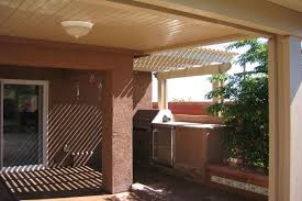 patio cover lights pictures of alumawood newport patio covers