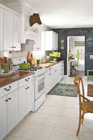 kitchen decor ideas for white cabinets kitchen decorating better homes gardens