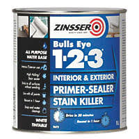 Sealant Paint For Damp Interior Walls Thompsons One Coat Damp Seal White 750ml Specialist Paints