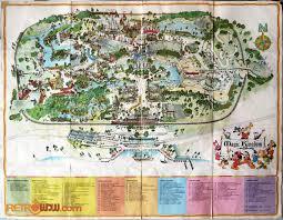 disney park maps walt disney maps retrowdw