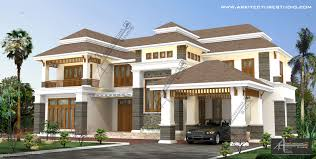 Traditional Colonial House Plans by Colonial Style House Designs In Kerala At 3500 Sqft U0026 5000 Sqft