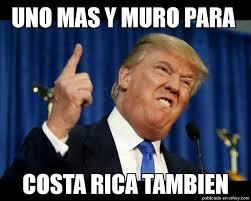 Costa Rica Meme - costa rica le recetã una â trumpadaâ de memes a estados unidos