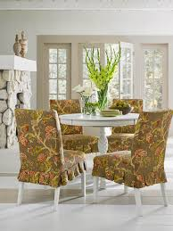 Dining Room Chair Slipcover Patterns Sure Fit Slipcovers Super Easy Way To Pretty Up Those Dining