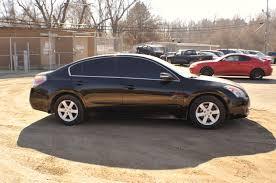 2007 nissan altima black used sedan sale