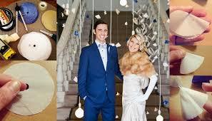 wedding backdrop tutorial diy paper mobile wedding backdrop