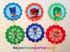 pj masks party utensils birthday party mypartytreasures