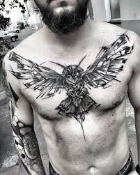 53 jaw dropping chest tattoos for tattoomagz