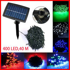 copper solar lights outdoor 400leds 40 m waterproof decorative copper globe solar powered led