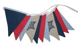 Red White Flag With Blue Star Merry Go Round Handmade Boys Star Denim Blue Red U0026 White Flag