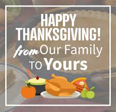 we you enjoy your thanksgiving with family friends and great