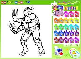 ninja turtles coloring pages kids mutant ninja turtles