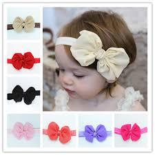 headbands with bows diy kids big ribbon bow bowknot headbands elastic hair bands hair