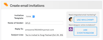 Invitation Card Application How To Create And Send Email Invitations For Your Event