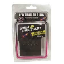 kt cables trailer plug 7 pin flat led supercheap auto