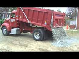 How Much Does A Cubic Yard Of Gravel Cost Dumping Load Of Gravel Youtube