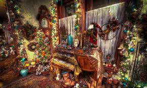 picture new year hdr interior balls toys holidays 4120x2468