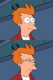 Fry Meme Generator - happy skeptical fry blank template imgflip